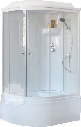 Душевая кабина Royal Bath RB 8120BK6-WT-R