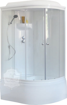 Душевая кабина Royal Bath RB 8120BK6-WT-L