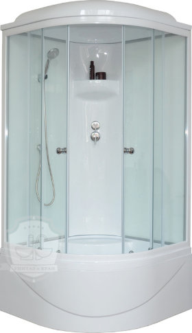 Душевая кабина Royal Bath RB 100BK6-WT