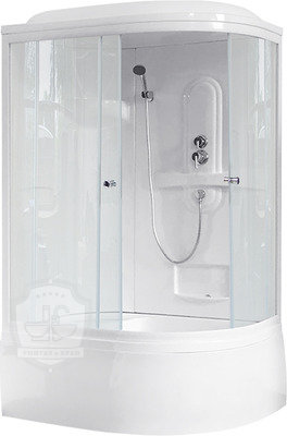 Душевая кабина Royal Bath RB 8120BK1-T L