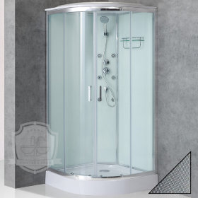 Душевая кабина BelBagno Uno Cab R 2 90 P Cr TOP