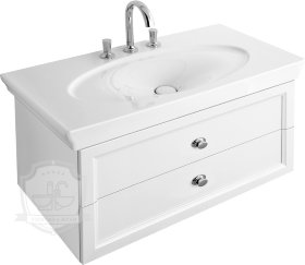 Тумба с раковиной Villeroy & Boch La Belle 105 white brilliant